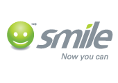 Smile Communications branded textile products